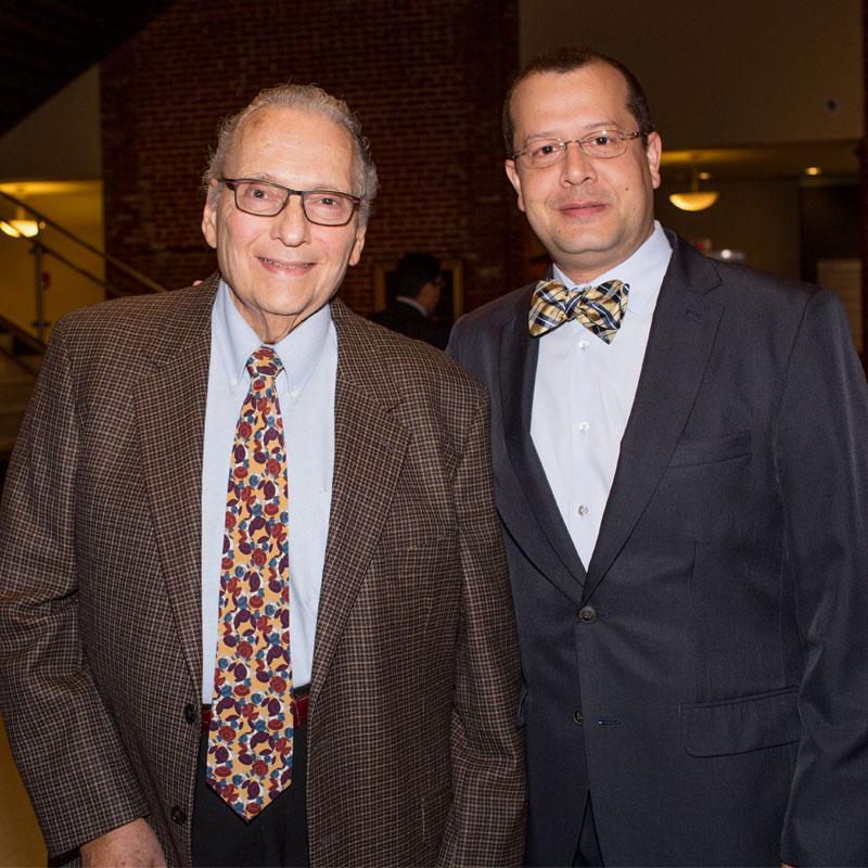 Dr. Melvyn Koby & Dr. Juan Fernandez de Castro