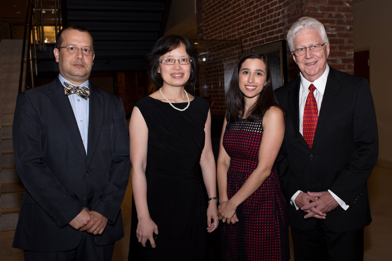 Graduating Residents w/ Dr. Kaplan: Drs. Castro, Chen, Newman, & Kaplan
